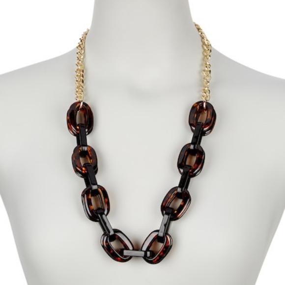 02cfe6184 Nordstrom Jewelry | 14th Union Tortoise Link Necklace | Poshmark